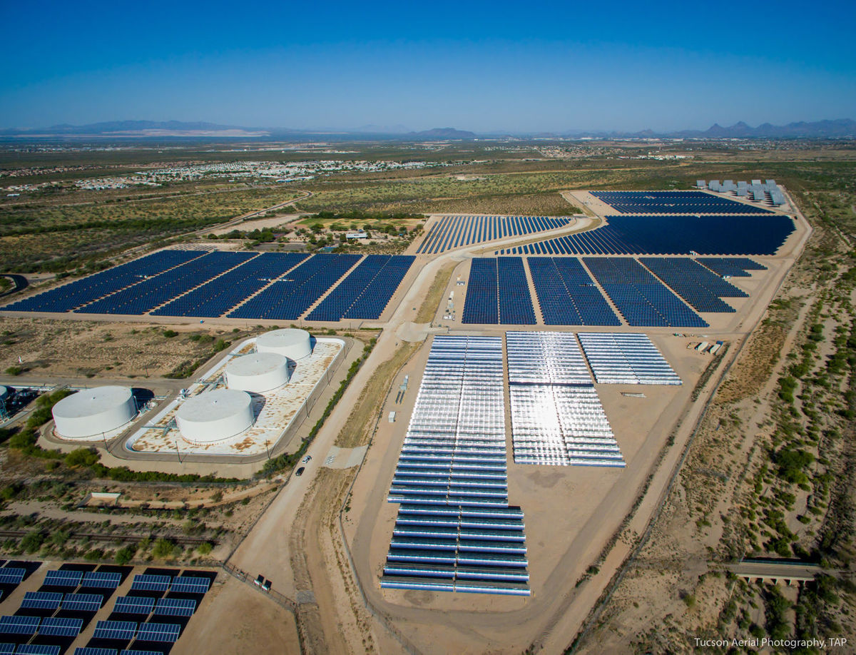 Tucson Tech Ua Solar Solar Zone Enters Second Phase