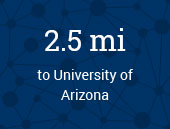 University of Arizona 2.5 miles