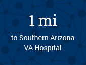 Southern Arizona VA Hospital 1 mile